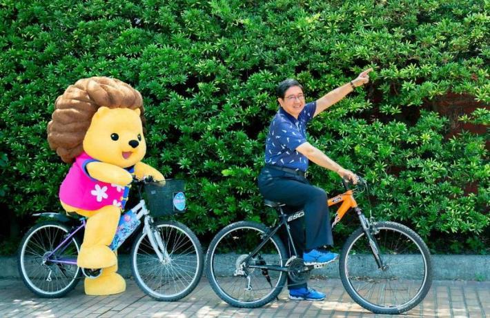 夏日逍遙遊  一起騎車趣