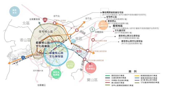 新竹上位計畫與警光關係圖