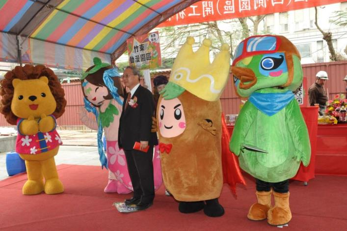 Hsinchu County's another international tourist attraction under construction: the Comics and Animation Park in Zhudong to announce its completion on August