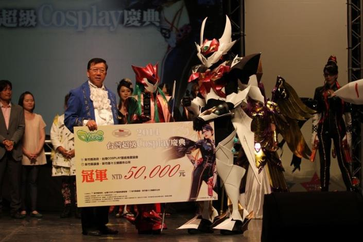 Tekkaman Blade clinches the championship in Taiwan Super Cosplay Celebration, to travel to Japan for World Cosplay Summit (4 photos)