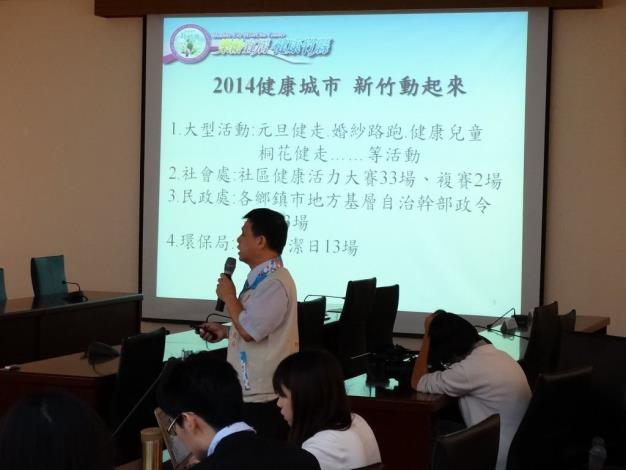 """Building an age-friendly, livable, healthy city─Magistrate Chiu leading Hsinchu County to """"MOVE UP"""" (3 photos)"""