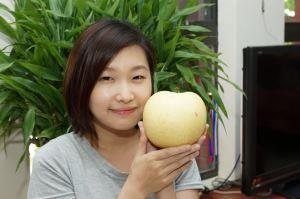 Xinpu Township's sweet, crispy and round Lucky Pear hits the market