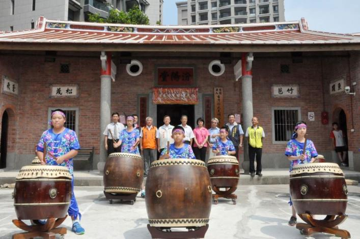 Restoration of Zhubei's Fenyang Hall completed. Active reuse officially begins