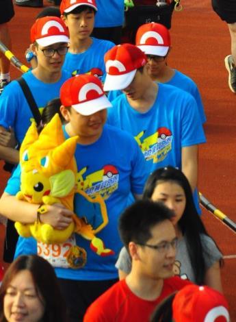 Super adorable 8-metre tall Pikachu woos fans at the Hsinchu County Pokémon Run
