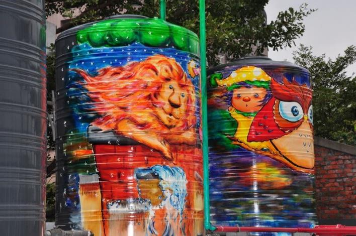 Unveiling of Zhudong Animation and Comic Creative Park's 3D Mural Happy Paradise (8 photos)