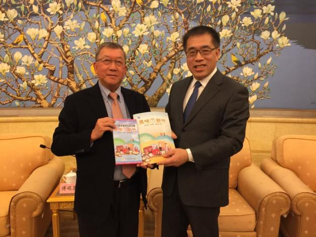 Magistrate Chiu Ching-chun Visits Beijing to Promote Hsinchu County 's Tourism and Agricultural Products (25 photos)
