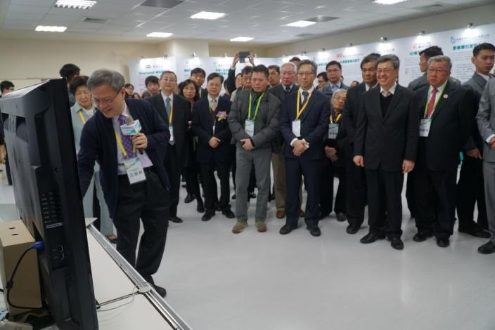 The Implementation Center of Biomedical Industrial Innovation Promotion Program Inaugurated (8 photos)