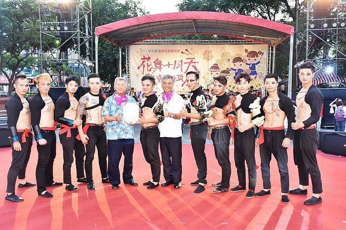 2017 Hsinchu County Hakka Folk Drum Arts Festival grandly kicks off (26 photos)