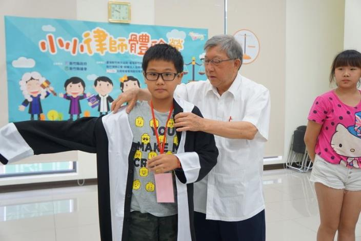 Hsinchu County Government holds the Young Lawyers Camp in Taiwan Hsinchu District Court (3 photos)