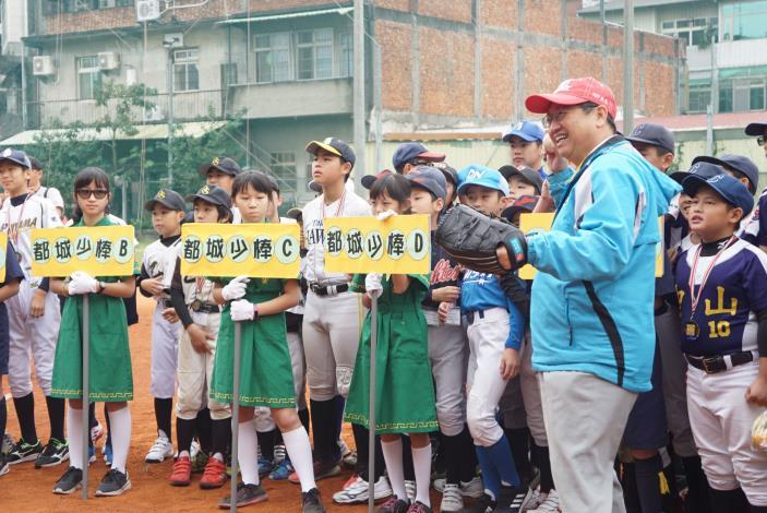 The 9th Taiwan-Japan International Junior Baseball Friendly Tournament kicks off (5 photos)