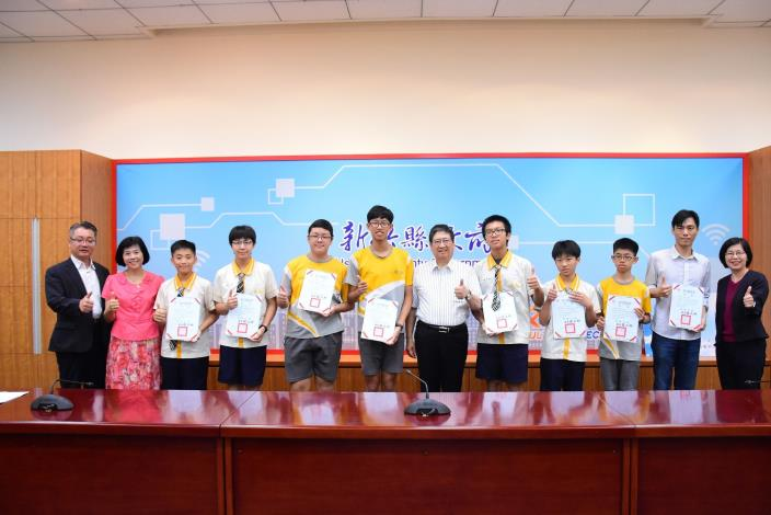 Dong Xing Junior High School wins 3rd prize in 3D Tronics (3)