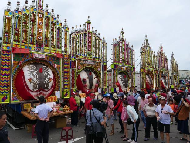 851.4 kg sacred pig awarded special prize in Hsinchu County Yimin Festival