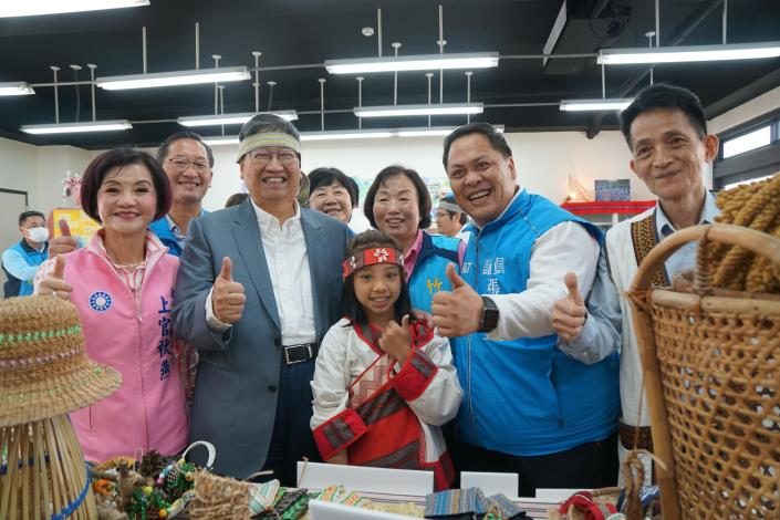 The first in the nation: The Hsinchu County Indigenous Culture, Education and Industry Promotion Center is completed.