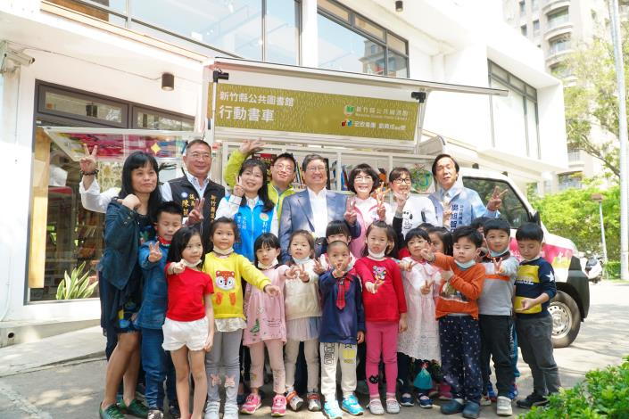 World Book & Copyright Day: The Cultural Affairs Bureau of Hsinchu County Government partners with libraries and independent bookstores to launch 6 themed activities (2 photos)