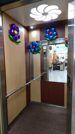 新竹縣湖口鄉老人會館電梯啟用典禮儀式