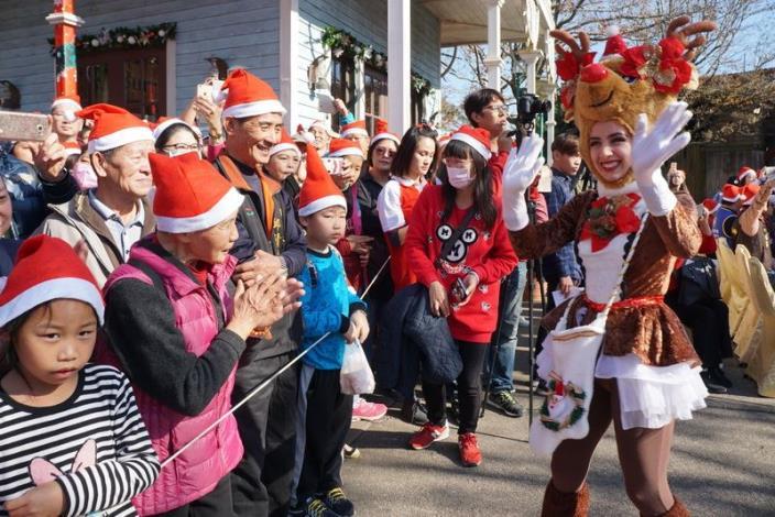 全台最大耶誕公益Pary      關西六福村登場