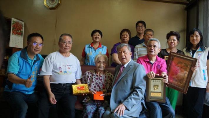 101歲人瑞徐葉順妹