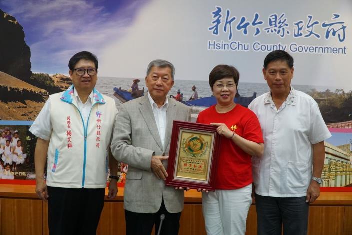 國際佛光會「體育弘法」 邱縣長頒獎表揚