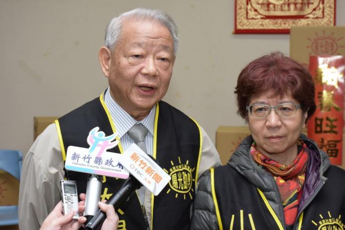 華夏公益協會王理事長受訪