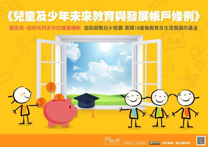 107-兒童及少年未來教育與發展帳戶條例-政策溝通電子單張文宣